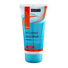 Beauty Formulas Tisztító gél zsíros bőrre(Oil Control Facial Wash) 150 ml