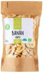 Natu Banánové chipsy BIO 170g