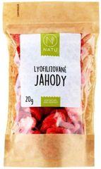 Natu Lyofilizovanej jahody plátky 20g