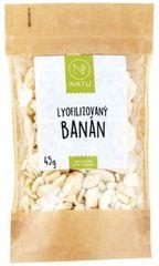 Natu Lyofilizovaný banán plátky 45g