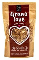 Natu Granolove slaný karamel 400g