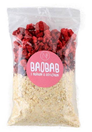 Natu Superkaše baobab s malinami a ostružinami 70g