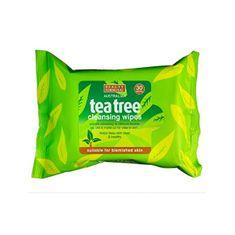 Beauty Formulas Tisztító kendőkTea Tree (Cleansing Wipes) 30 db