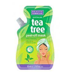 Beauty Formulas Lehúzható maszk Tea Tree (Peel-off Mask) 50 ml