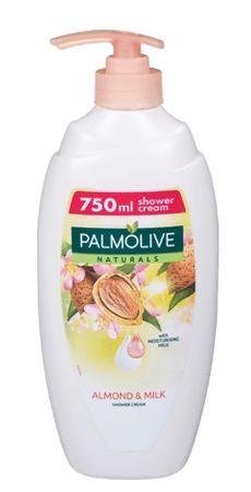 Palmolive Naturals gel za tuširanjes bademom (Moisturizing Shower Milk), 750 ml