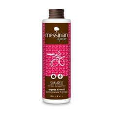 Messinian Spa Šampón na farbené vlasy granátové jablko & hroznové víno 300 ml