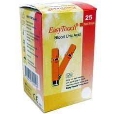 EasyTouch Proužky EasyTouch-kyselina močová 25ks
