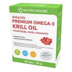 Nutrihouse Premium Omega 3 Krill Oil 60 kapslí