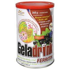 Geladrink Ferritin nápoj Černý rybíz 360 g