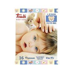 Trudi Dětské pleny Dry Fit s vrstvou Perfo-Soft velikost Junior 11-25 kg 16 ks