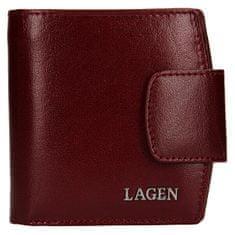 Lagen Dámská kožená peněženka 50465 Cherry
