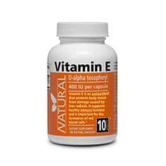 Natural Vitamín E 400 IU prírodný 100 kapslí