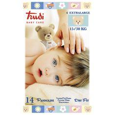 Trudi Dětské pleny Trudi Dry Fit s vrstvou Perfo-Soft velikost XL 15-30 kg 14 ks