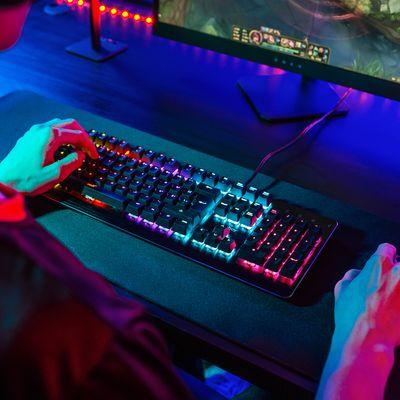 Niceboy ORYX K444 Mechanicus, Mojo RX, CZ (Oryx-k-444) mechanická herná klávesnica drôtová, RGB Anti-ghosting