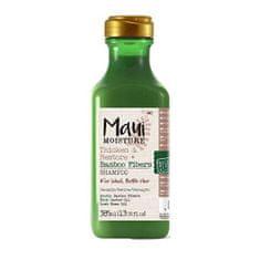 Maui posilňujúci šampón pre slabé vlasy + bambusové vlákno 385 ml