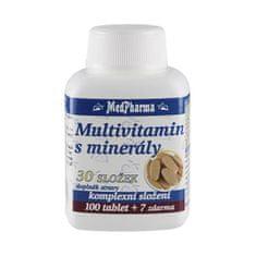 MedPharma Multivitamin s minerály 30 složek 100 tbl. + 7 tbl. ZDARMA