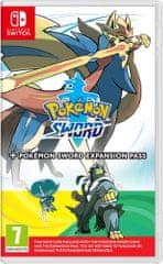 Nintendo Pokemon Sword + Expansion Pass igra (Switch)