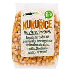 Country Life Kukurica na popcorn BIO 200 g