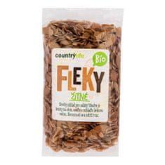 Country Life Těstoviny fleky žitné BIO 400g