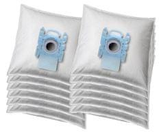 KOMA BS67G - Sada 12ks sáčků do vysavače Bosch Typ G ALL, textilní s plastovým čelem