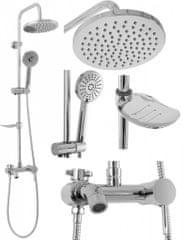 REA Sprchový set Luis chróm (REA-P7007)