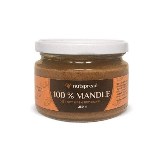 Nutspread 100% Mandlový krém (Varianta 250 g )