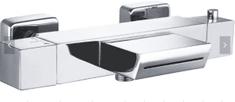Mexen CUBE vanová baterie-termostatická, chrom 77360-00 - MEXEN