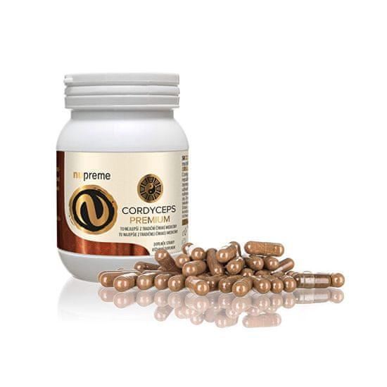 Nupreme Cordyceps extract 30% 100 kapslí
