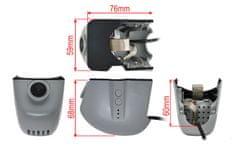 inCarDVR  InCar DVR záznamová kamera pre Audi (2013->).