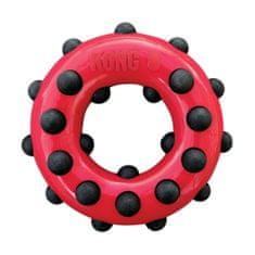 KONG Dotz igračka za pse, krug, crvena, L