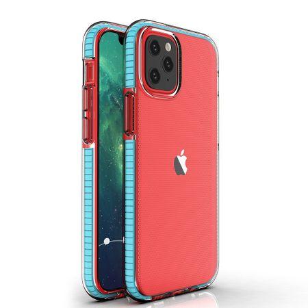 MG Spring Case silikonski ovitek za iPhone 12 mini, svetlomodro