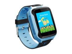 commshop Dětské chytré hodinky s GPS lokátorem - modré