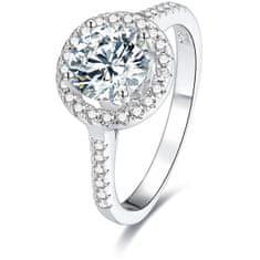 Beneto Ezüst gyűrű AGG193 kristályokkal ezüst 925/1000
