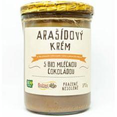 Božské oříšky Arašídový krém s BIO mléčnou čokoládou 390 g
