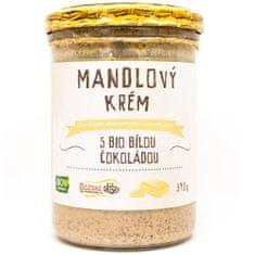 Božské oříšky Mandlový krém s bio bílou čokoládou 390 g