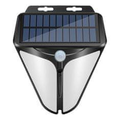 Bezdoteku LEDSolar 30 nástenná lampa so senzorom, bezdrôtové, 1W, studená farba