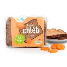 KetoLife Proteínový chlieb - S mrkvou 250 g