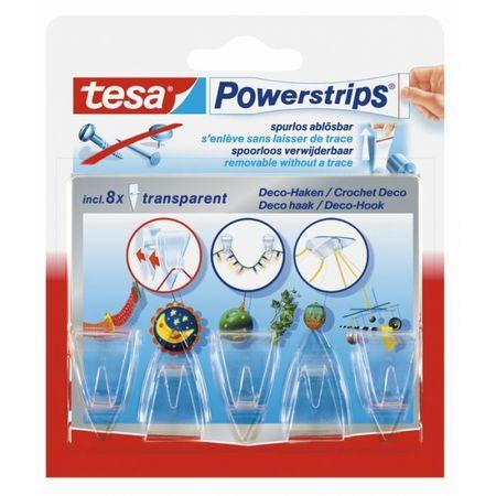 Tesa Powerstrips kljukice, 5 kosov (58900)