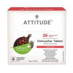 Tablety do myčky bez fosfátů ATTITUDE (26 dávek)