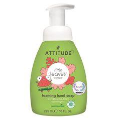 Dětské pěnivé mýdlo na ruce ATTITUDE Little leaves s vůní melounu a kokosu 295 ml