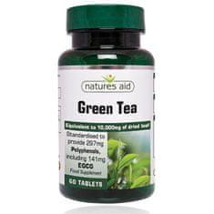 Natures Aid Zelený čaj 10 000 mg - 60 tabliet