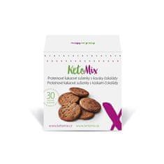 KetoMix Proteinové kakaové sušenky s kousky čokolády (30 sušenek)