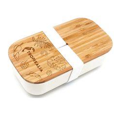 Tropikalia Lunch box M - Bílý