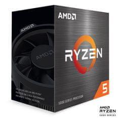 AMD Ryzen 5 5600X procesor, 6 jezgri, 12 niti, Wraith Stealth hladnjak, 65 W (100-100000065BOX)