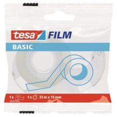 Tesa Basic ljepljiva traka s odvijačem, 15 mm x 33 m