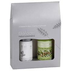Saloos Dárkový balíček Argan & Hyaluronové sérum