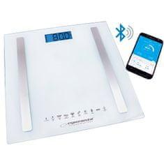 Esperanza Osobní elektronická a diagnostická váha 8v1 s bluetooth B fit Scale - bílá