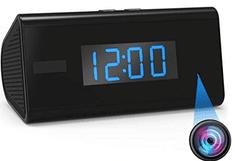 SpyTech WiFi HD kamera v budíku s nočním viděním a PIR detekci pohybu