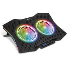 Yenkee podkładka chłodząca YSN 310 RGB UFO