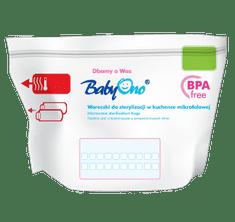 BABY ONO woreczki do sterylizacji w kuchence mikrofalowej 5 szt.
